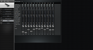 Click to display the Yamaha S30 Drums Editor