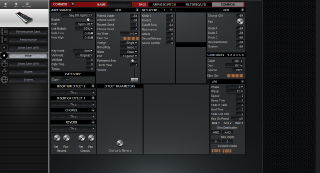 Click to display the Yamaha S80 Voice - AMP+OSC+PITCH Editor