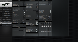 Click to display the Yamaha S90 System Editor