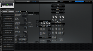 Click to display the Yamaha S90ES Multi - Common+Effects Mode Editor