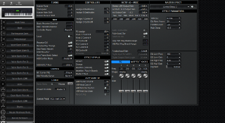 Click to display the Yamaha S90ES System Editor