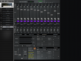 Click to display the Yamaha SY77 Drums EBuf Editor