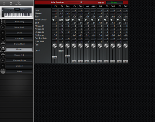 Click to display the Yamaha W5 Drums Editor