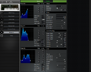 Click to display the Yamaha W7 Element Editor